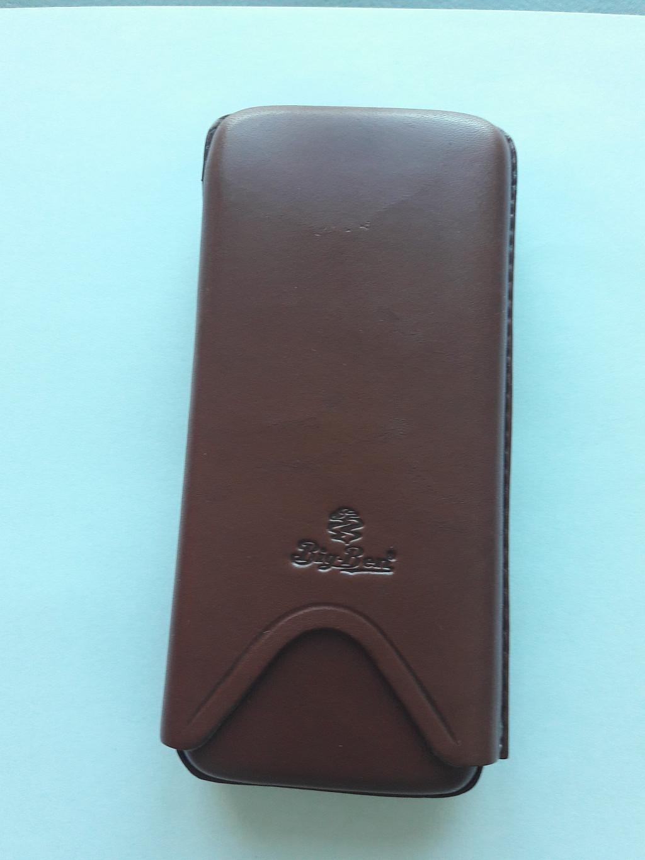 % Биг Бен кожаный корпус для 3 сигар 54274