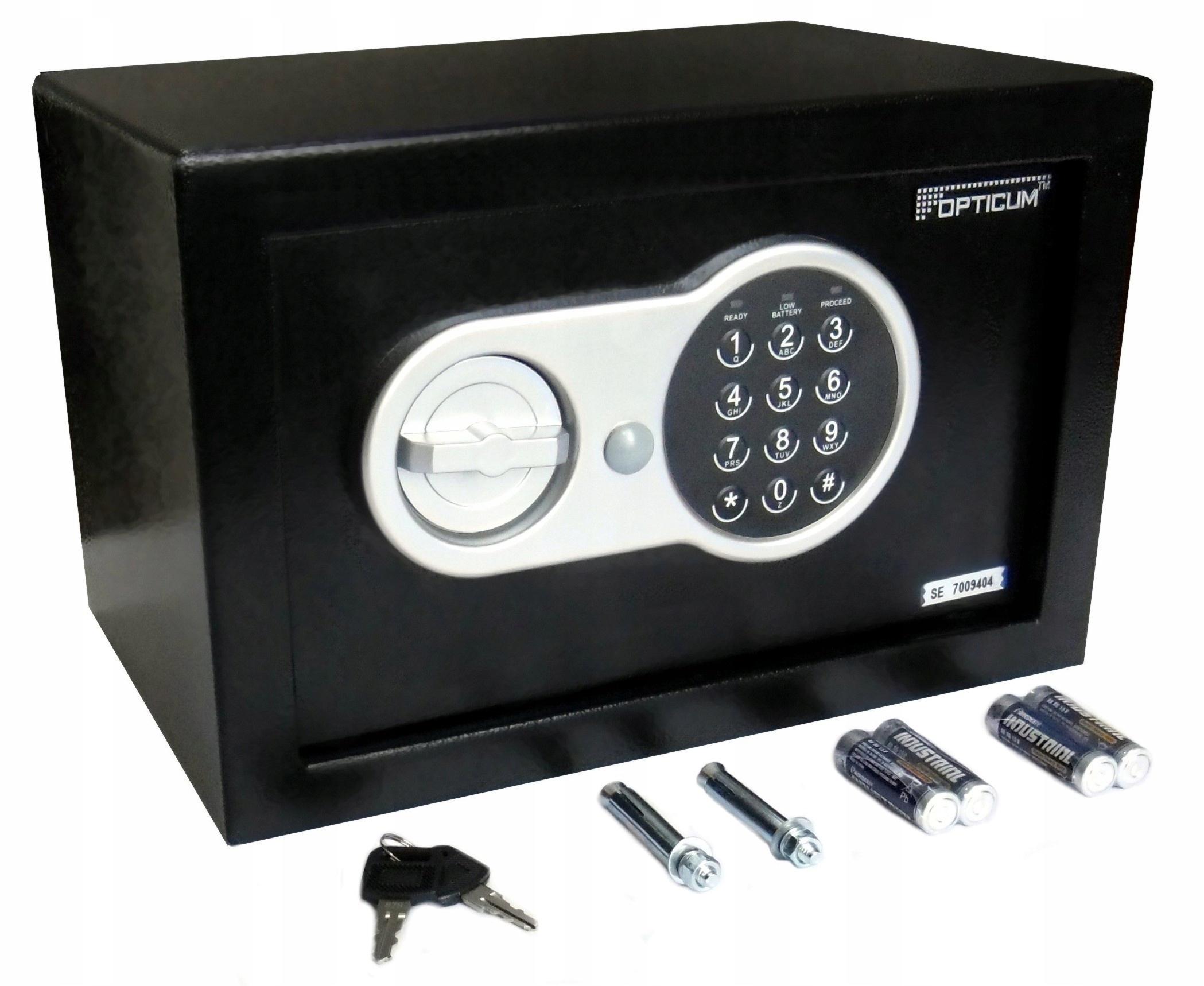 сейф шкатулка на шифр электронный ключ Самсон