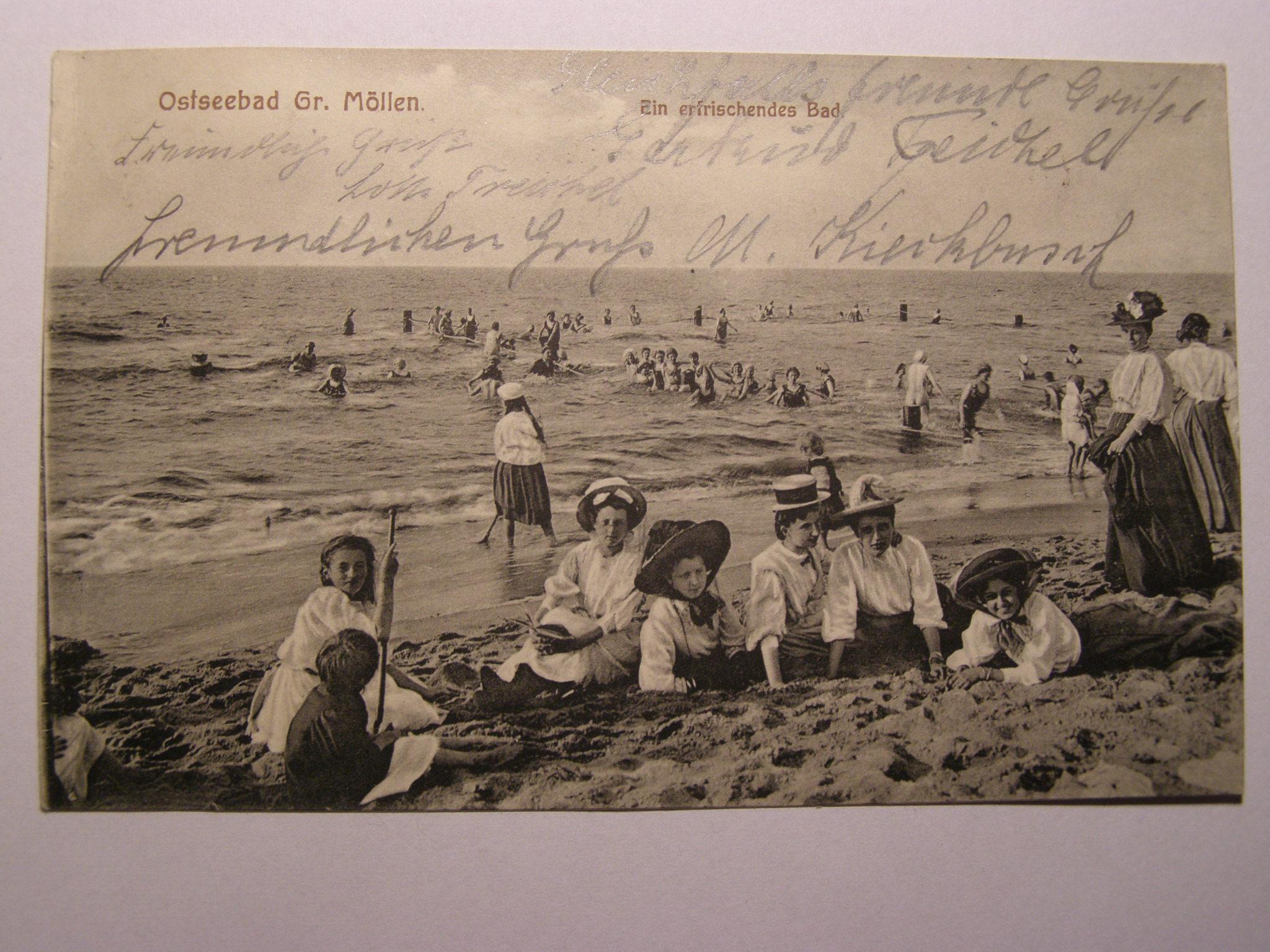 Mielno Grossmoellen Koszalin moda cudna 1918