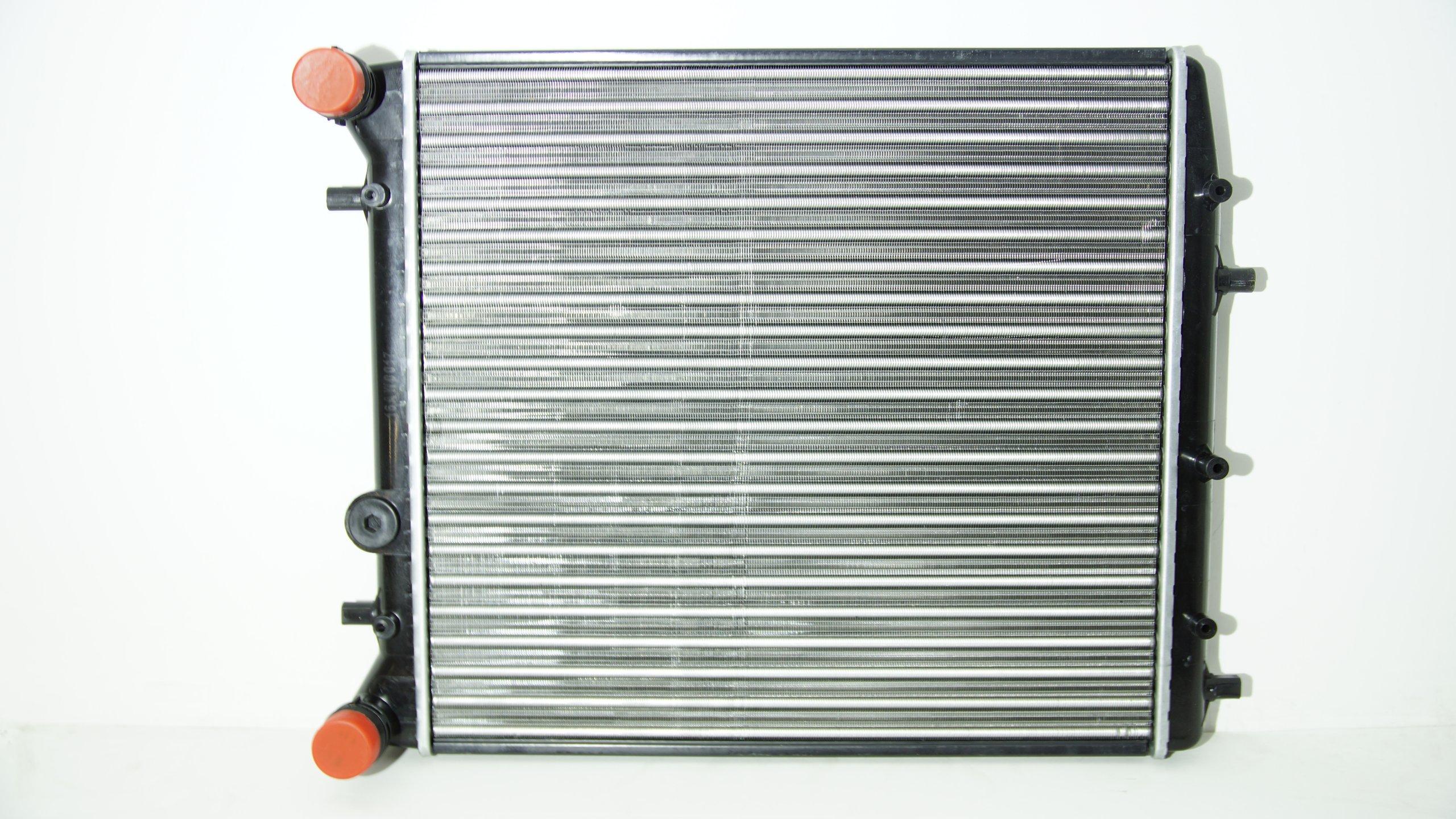радиатор воды skoda fabia 10 12 14 19 без ac