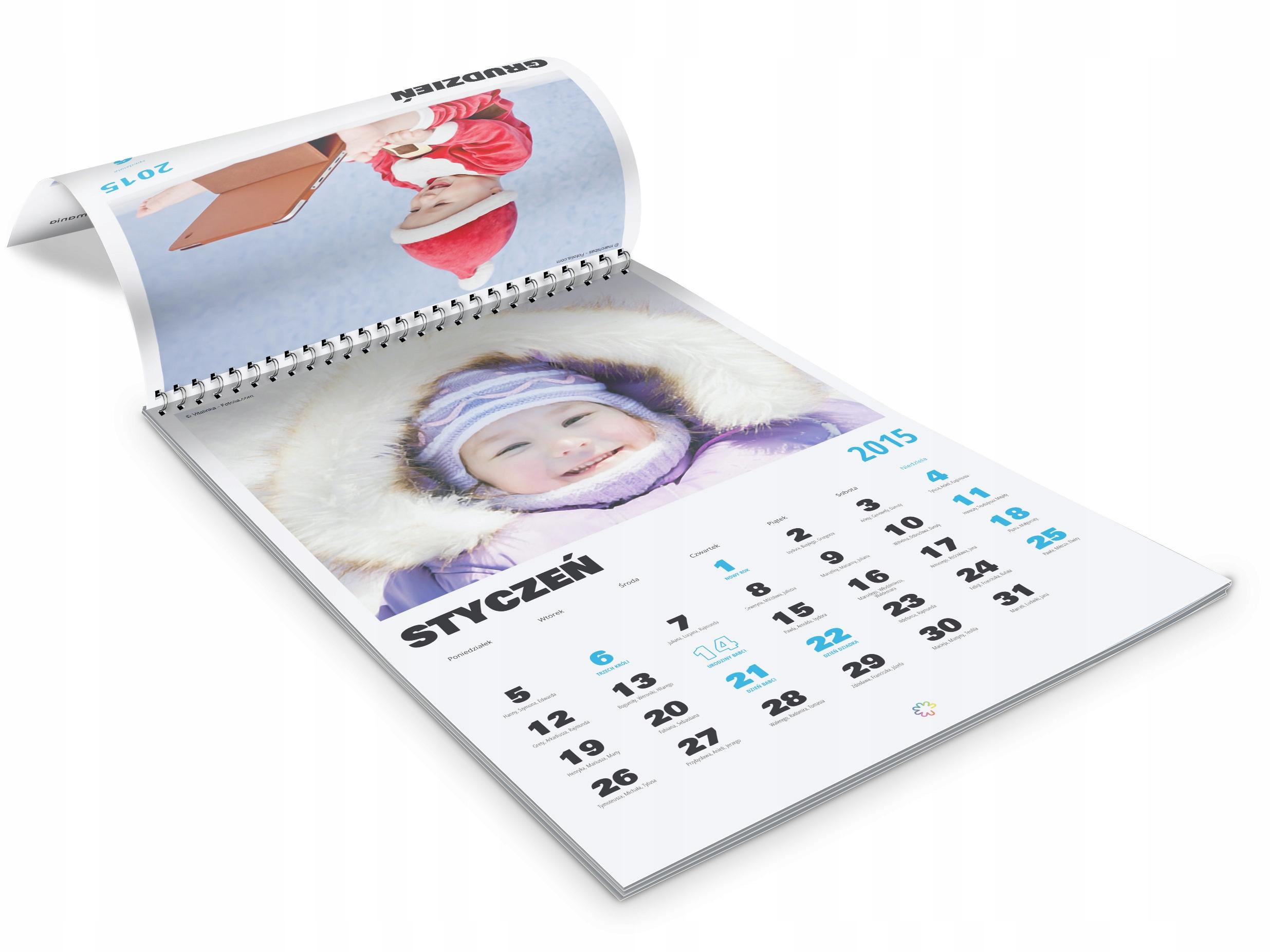 Календари с фотографиями на заказ настенные