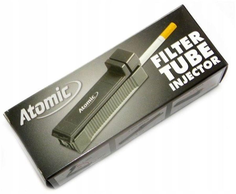 Купить ATOMIC Nabijarka, наполнитель для сигарет на Otpravka - цены и фото - доставка из Польши и стран Европы в Украину.