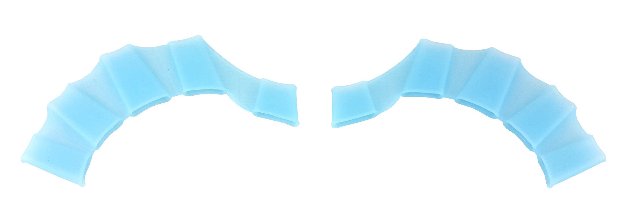 Drevené na dlani membrány. Obyčajné kúpanie. BLUE L