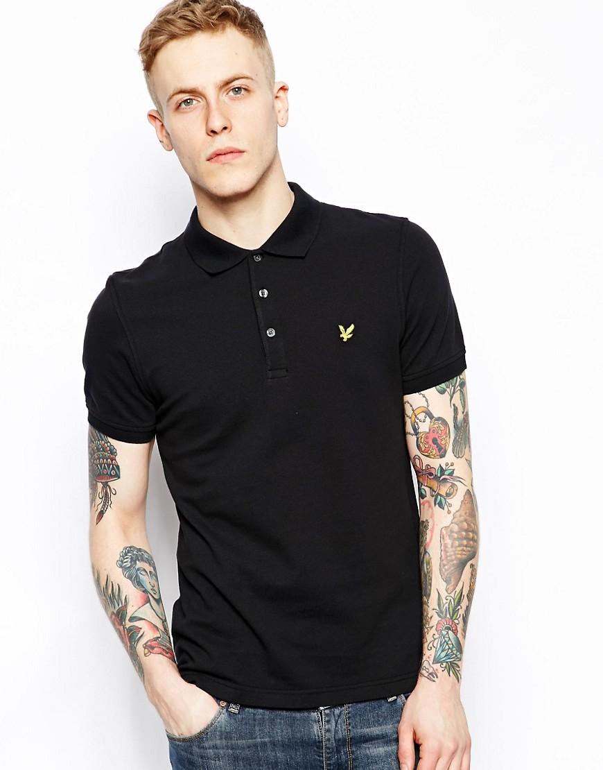 Lyle & Scott vintage čierne tričko S