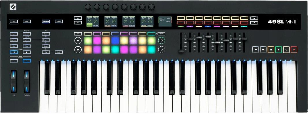 Novation 49SL MK3 USB Klávesnica MIDI Controller