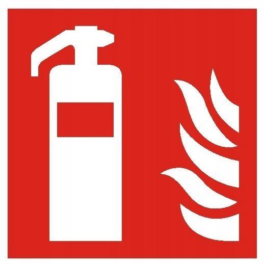 Znamenie hasiaceho prístroja 15x15 PVC doska BAF001PN Označenie