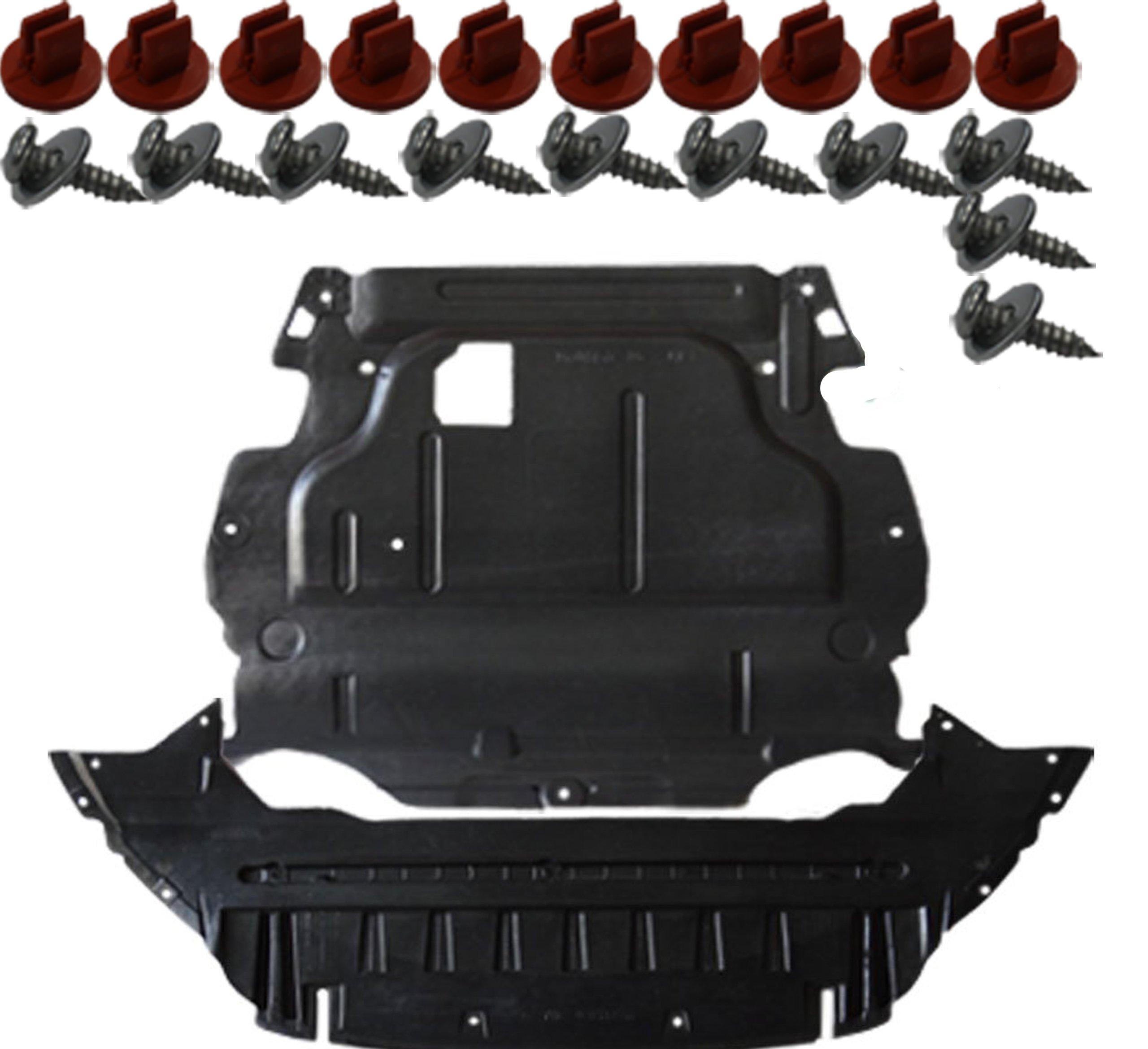 ford mondeo мк 4 iv крышка двигателя бампера запонки