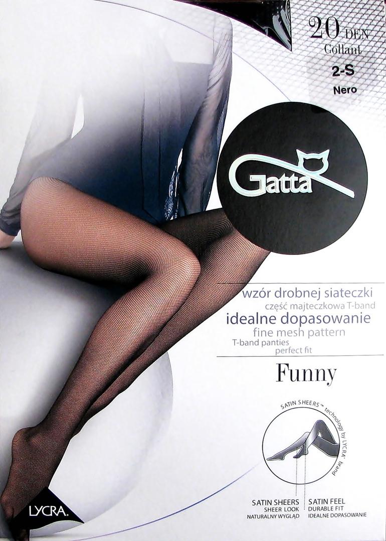 _gatta Funny wzór 01 Rajstopy jak Kabaretki M-3