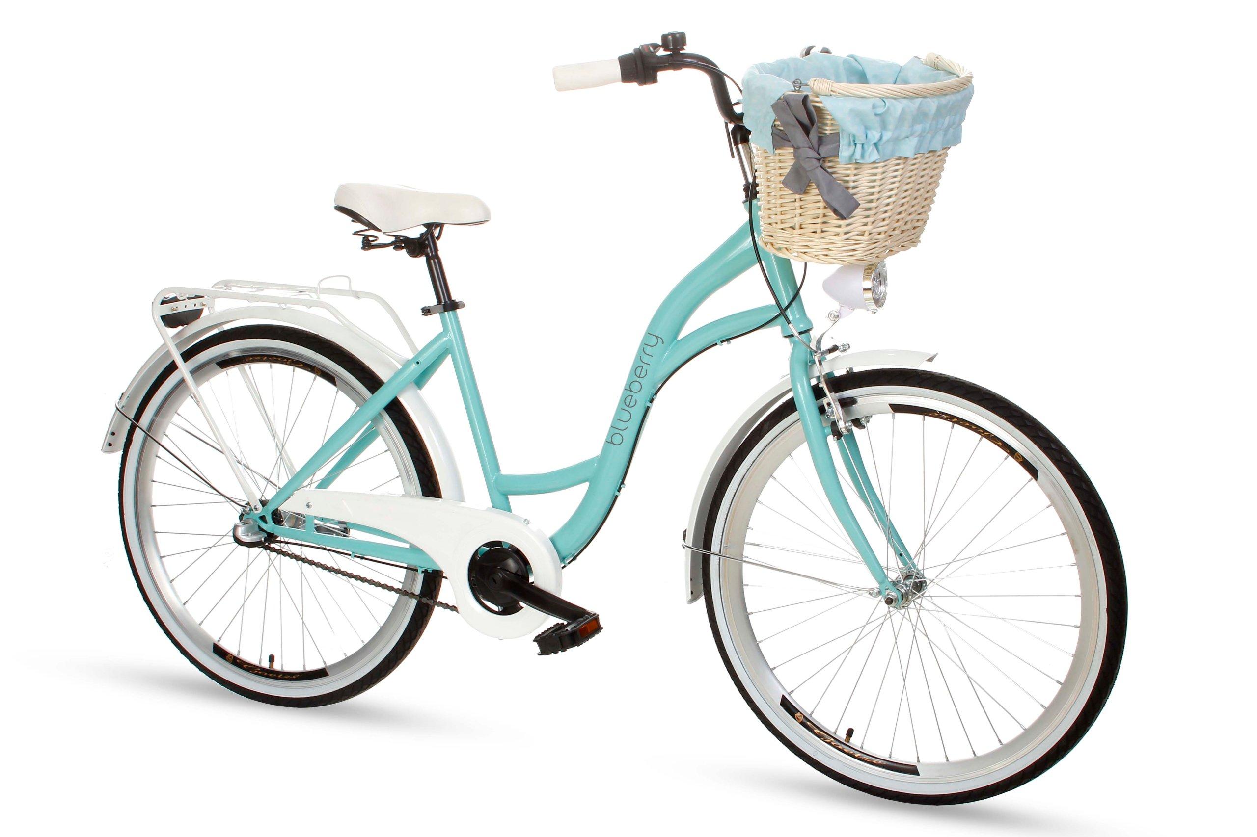 Dámsky mestský bicykel Goetze BLUEBERRY 26 3b košík!  Značka Goetze