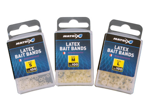 Novelty Matrix Latex Bait Bands Malé 100ks