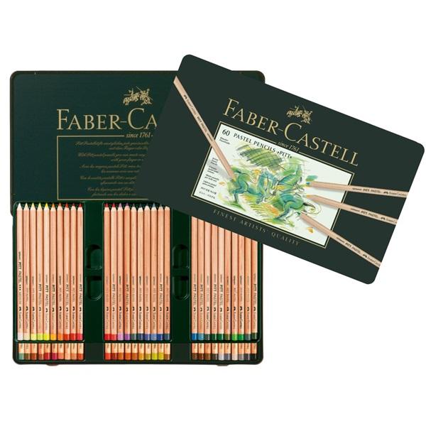 Pastelové ceruzky FABER-CASTELL PITT 60 farby