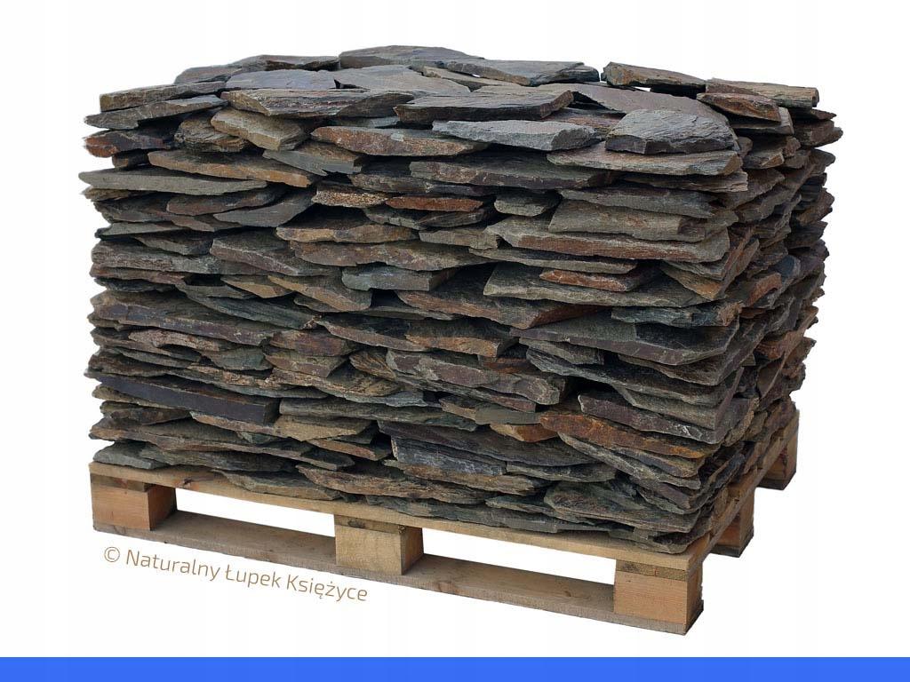 Kamień elewacyjny, łupek szarogłazowy na elewację