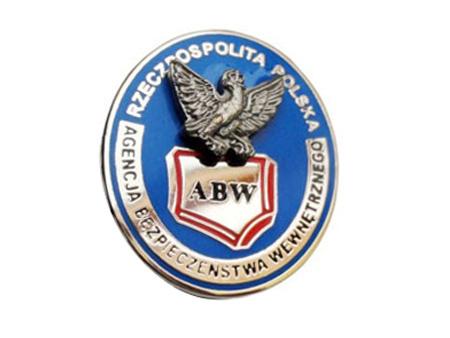 ABW Interná bezpečnostná agentúra - piny