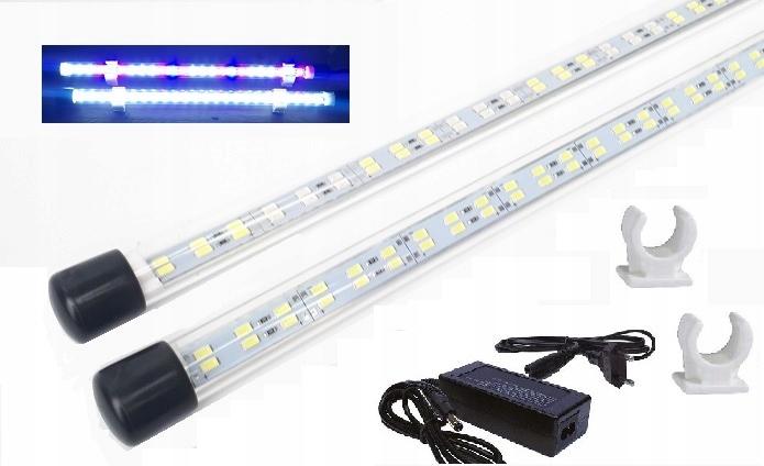 AKVARIJNÉ OSVETLENIE LED-2x30 CM hlavný TRUBICE