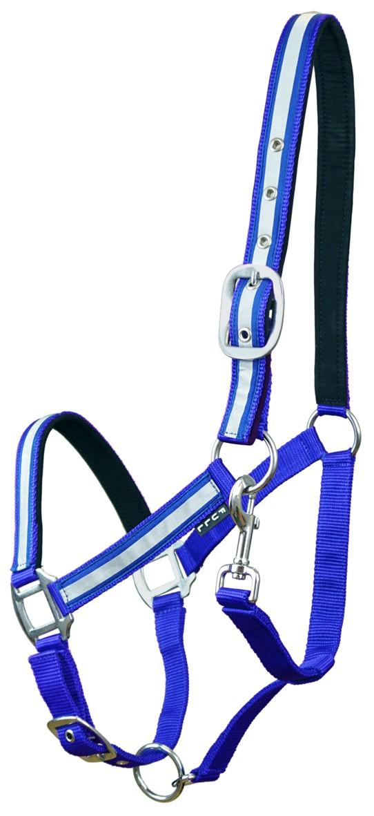 Kantar York Reflex odblaskowy niebieski Pony kuc