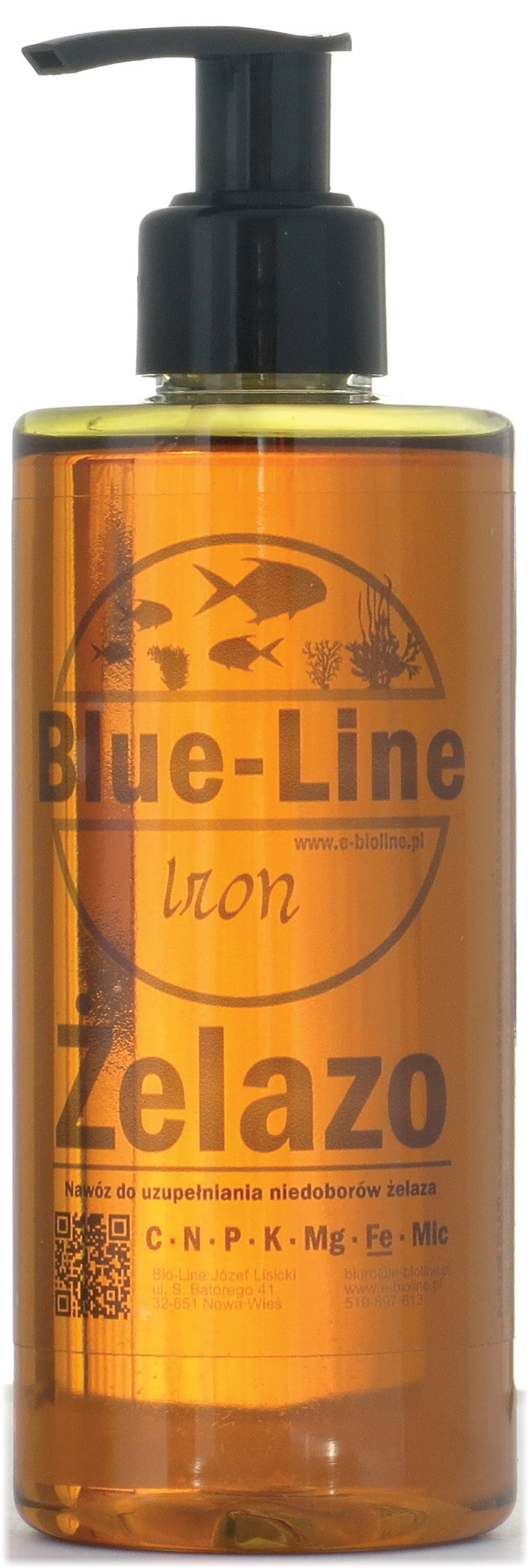 Nawóz żelazowy od Blue-Line - czyste ŻELAZO 500ml