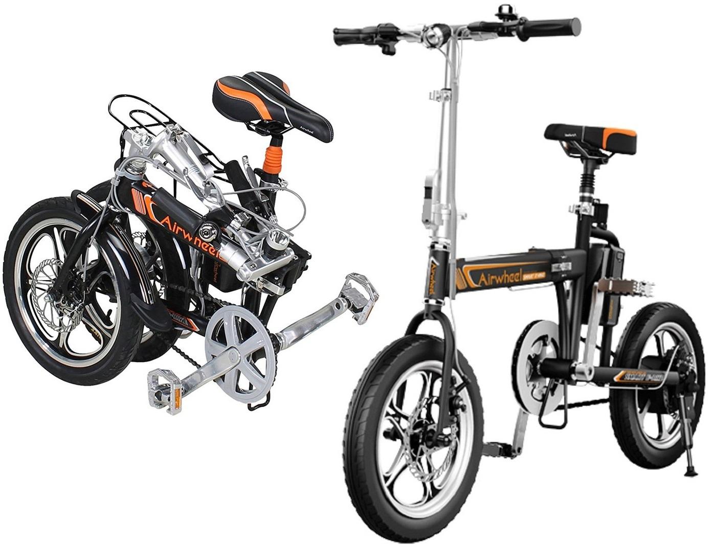 Bicykel s plochým dnom lode, skladací elektrický - Airwheel R5