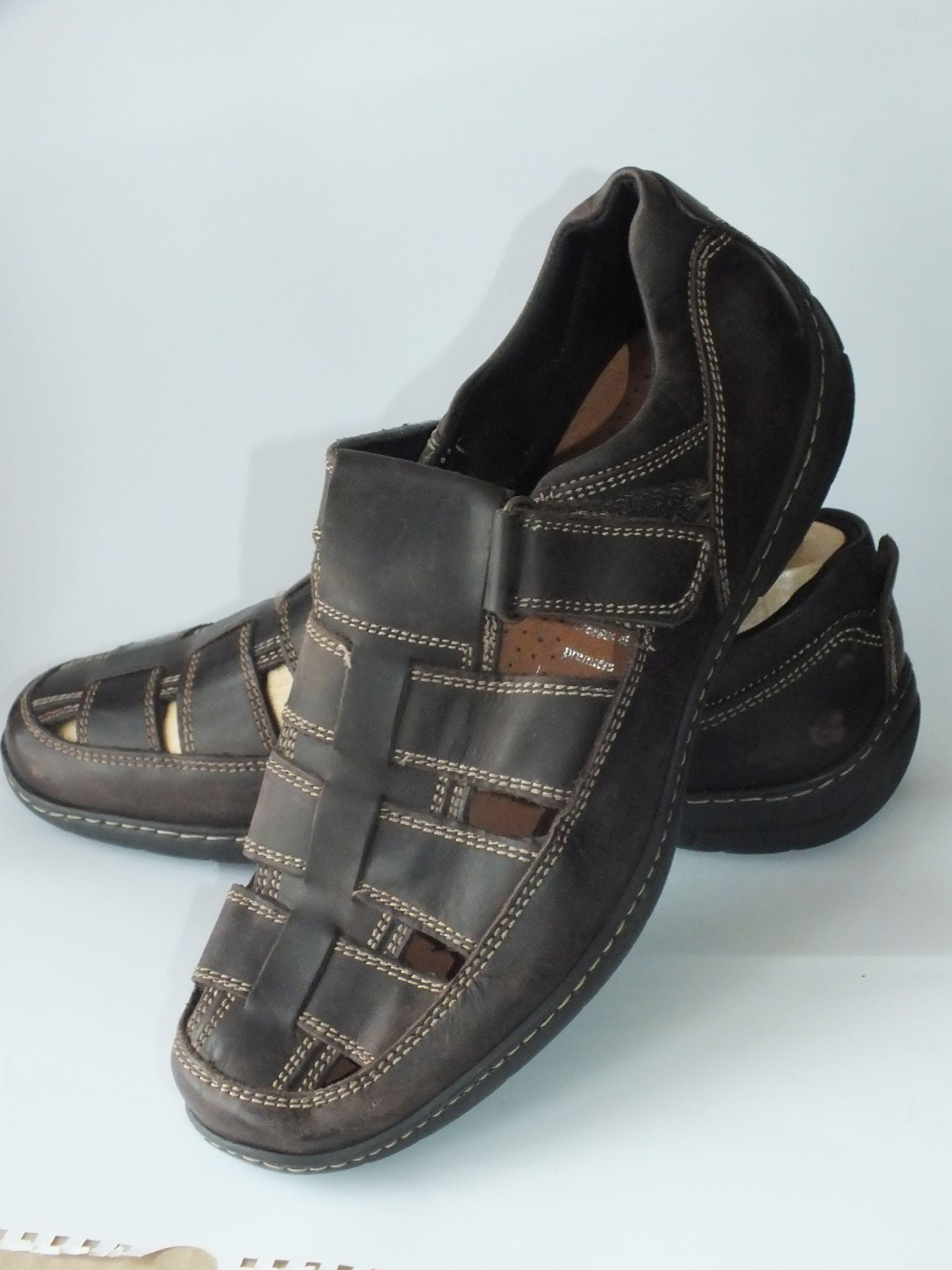 20aeba44 Sandały półbuty sportowe skórzane WEINBRENNER r 43 7047402351 - Allegro.pl