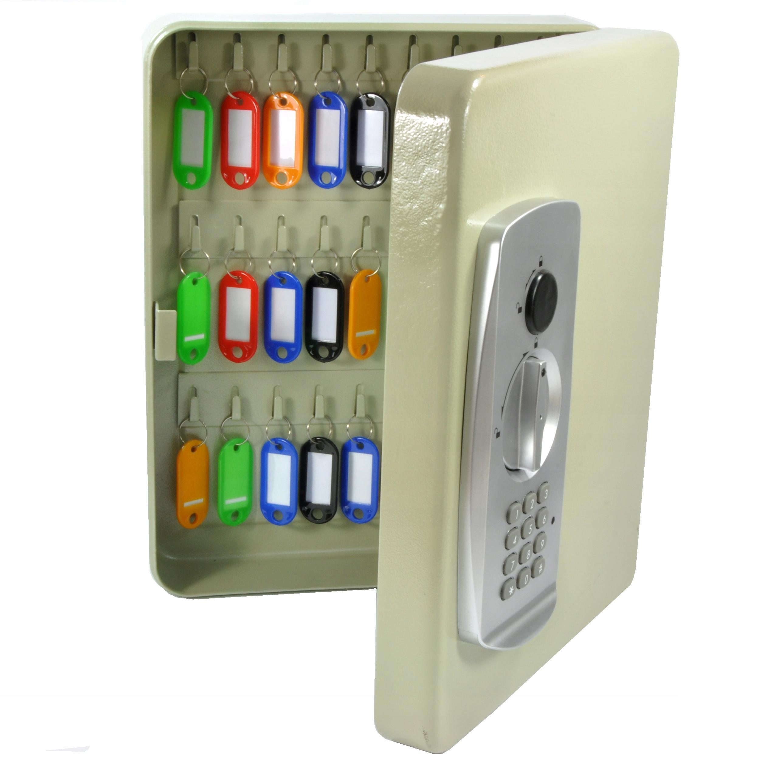 ящик шкатулка на ключи 27 штук замок цифровой