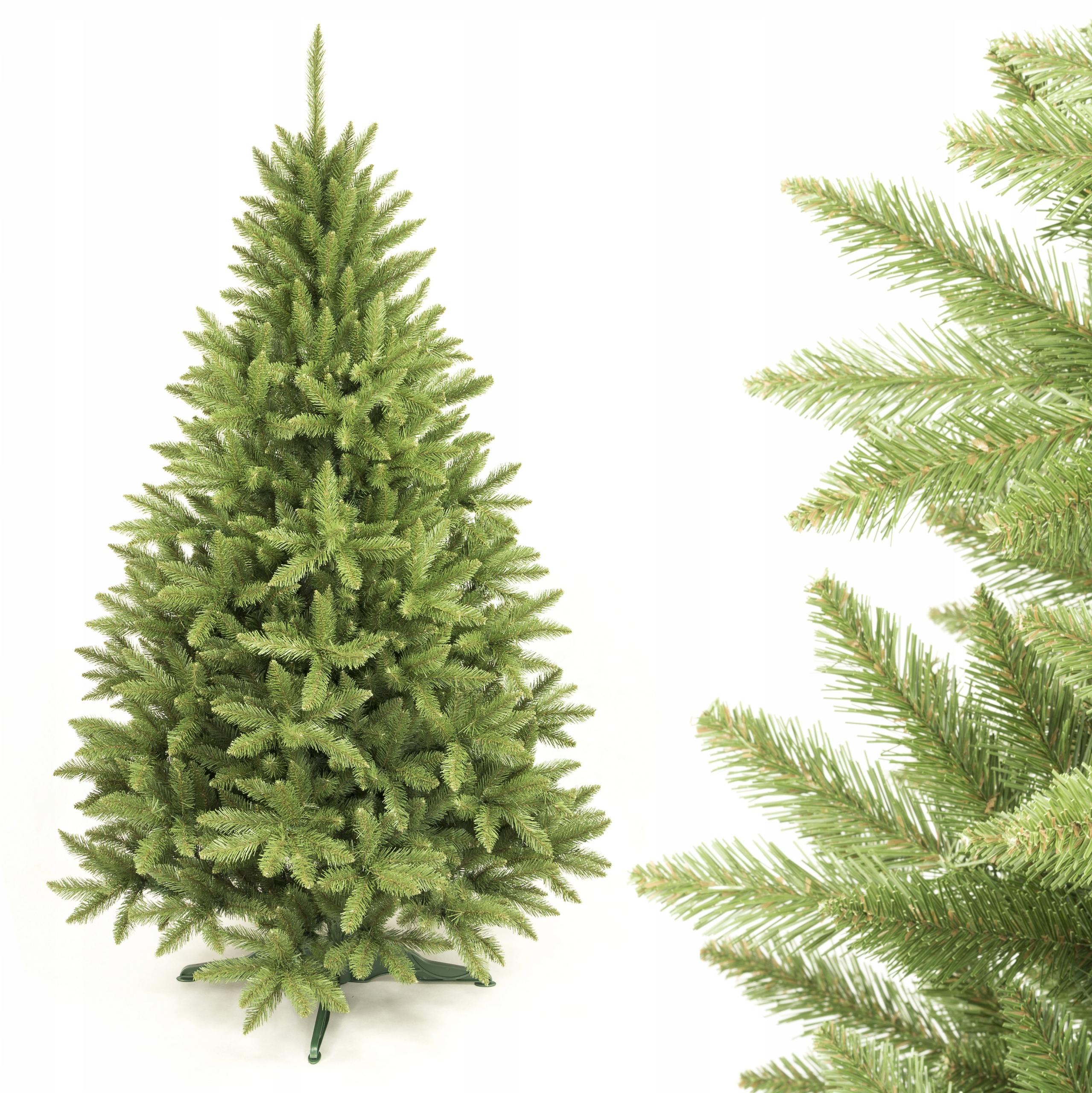 Umelý vianočný stromček kaukazský smrek 130 cm NAŽIVO NAŽIVO!