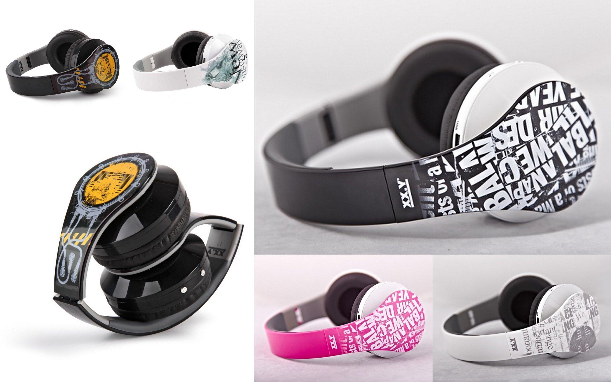 XX.Y Slúchadlá s MP3 Radio Bezdrôtový mikrofón