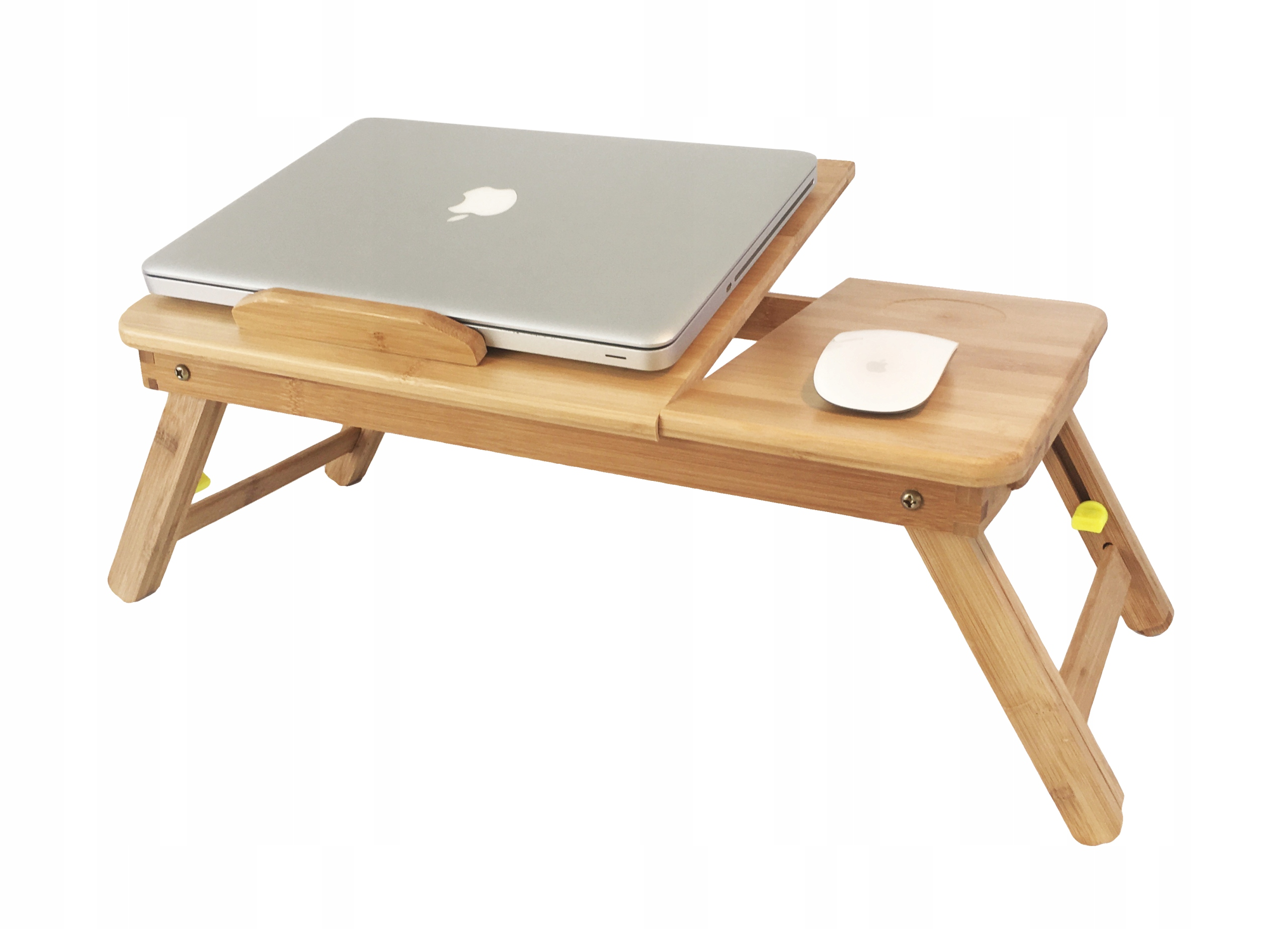 "Item COMFORTABLE BAMBOO TABLE UNDER THE LAPTOP IS 17""!!"