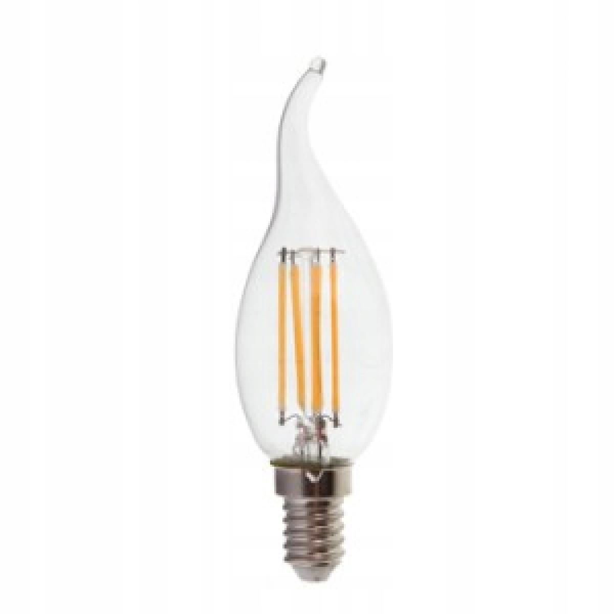 LED žiarovka 4 W E14 svetelný Vintage Retro Tepla