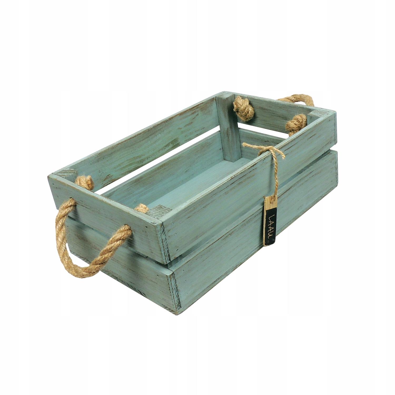 Drevená krabica. Vintage, retro krabica.