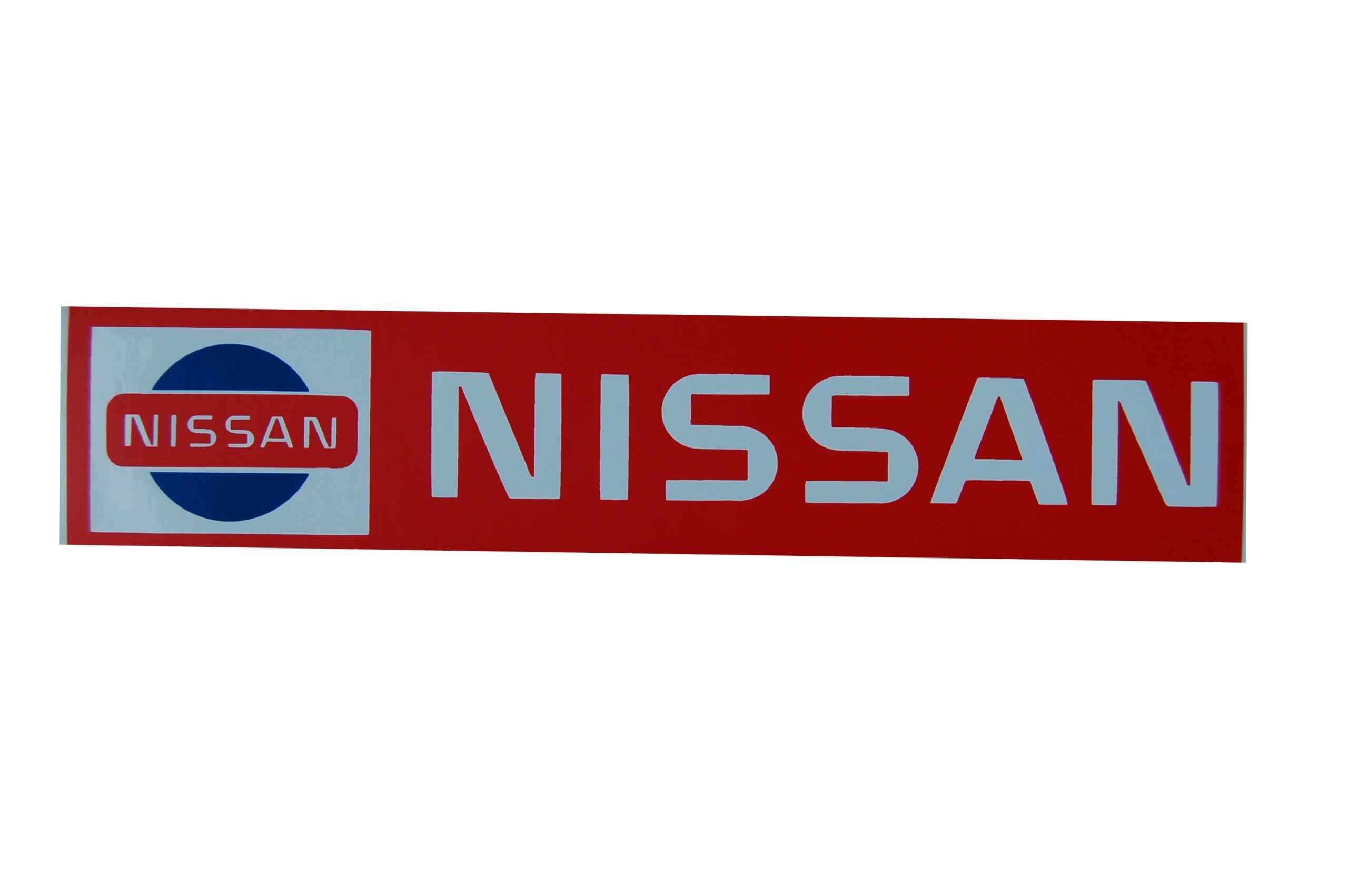 Nissan nálepky Retro Vintage 24x5 cm
