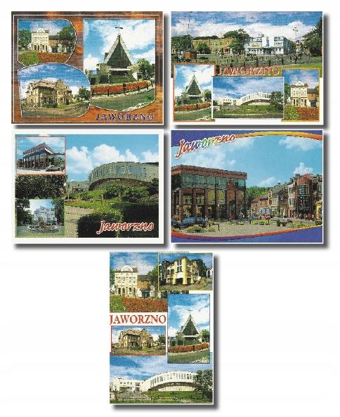 Jaworzno pohľadnice 5 kusov