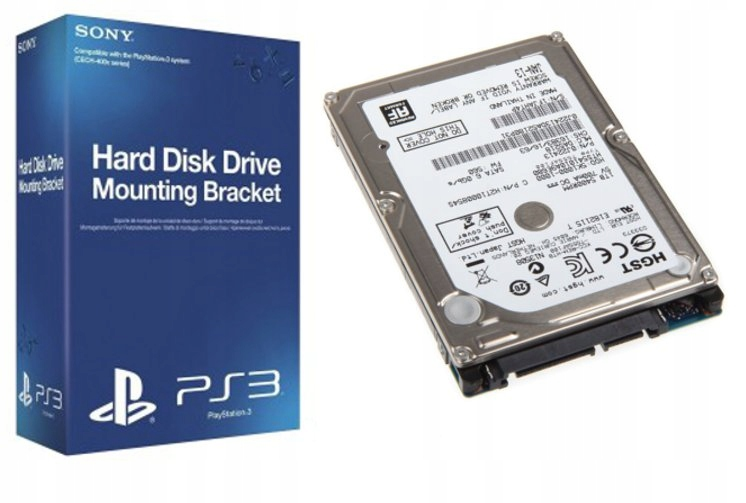 Item Hard DRIVE HDD 500GB SONY PS3 SUPER SLIM PlayStation