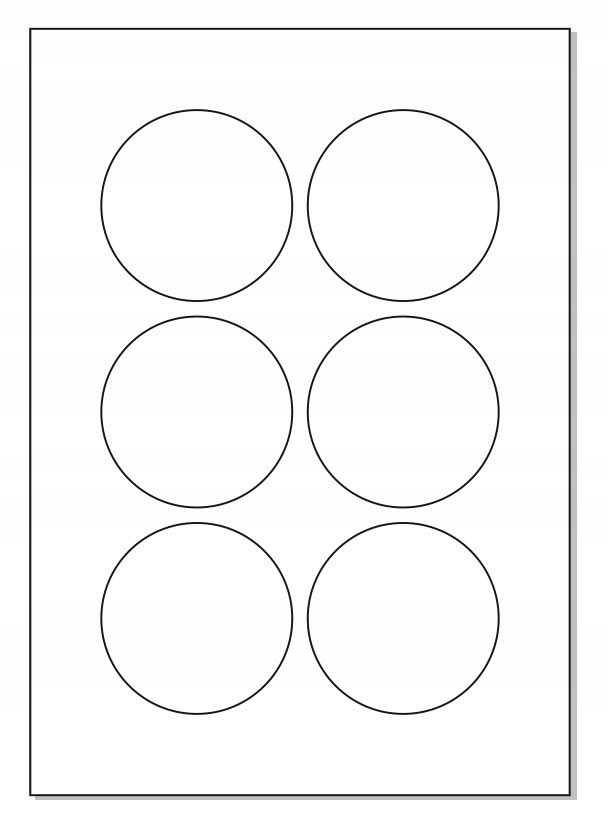 Samolepiace etikety FI 74 A4 ROUNDOPT / 10S