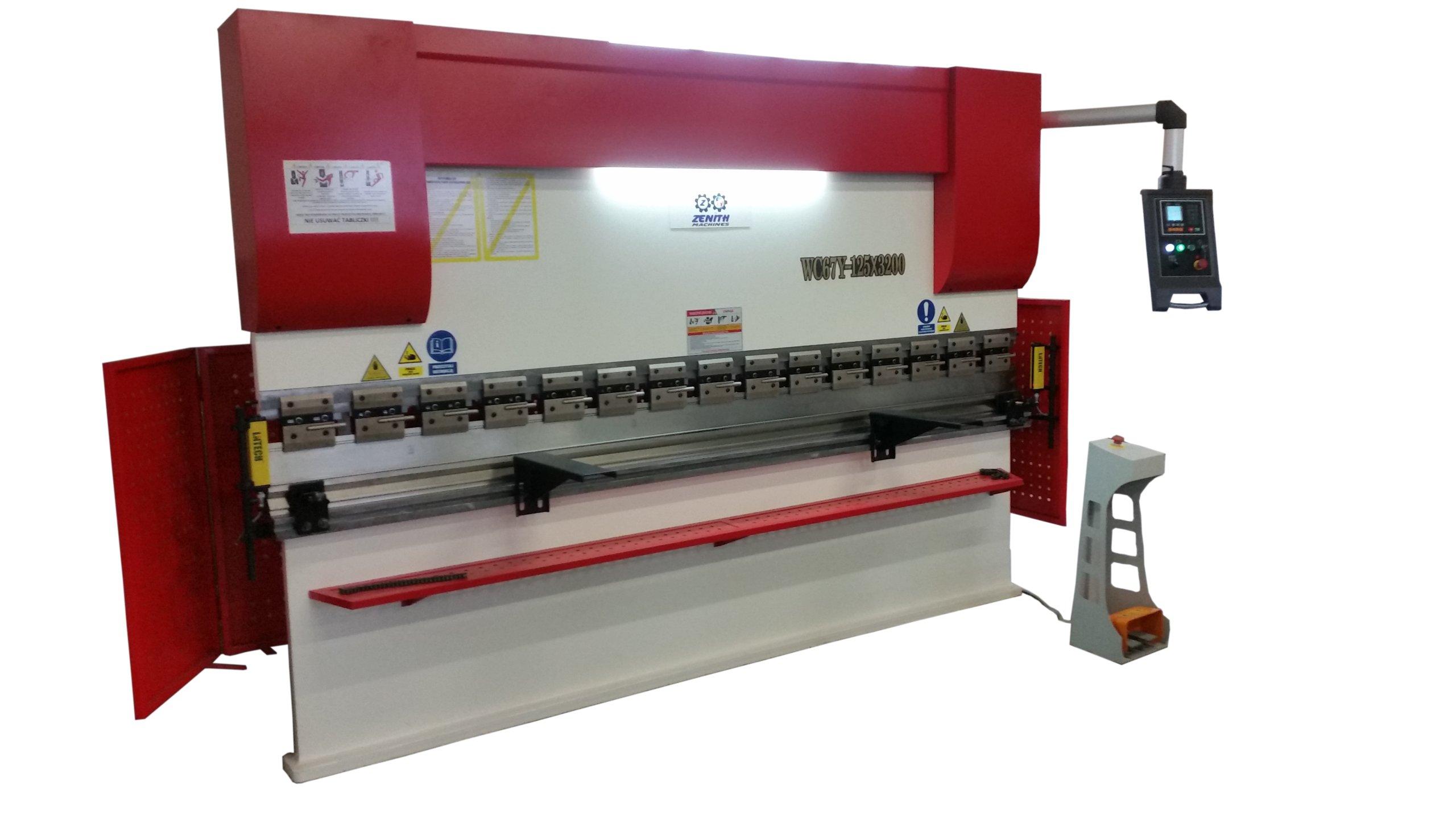 Hydraulická hrana tlač 125x3200