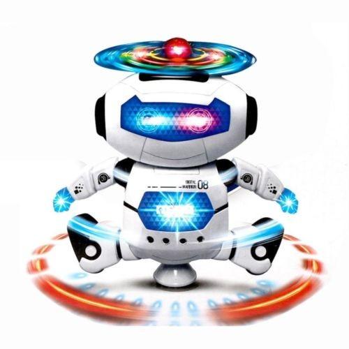 360 ° Rotačný elektrický robot