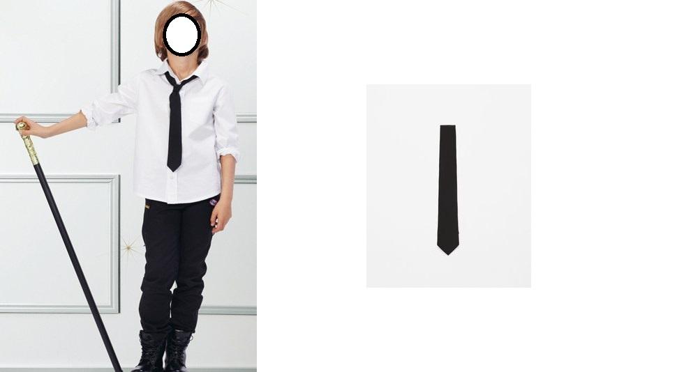 Zara Tie Black R. M NOVÉ