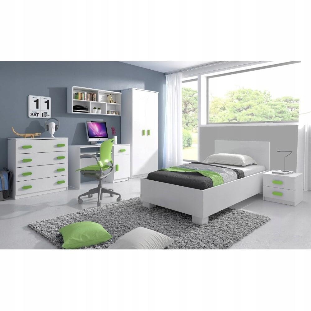 Meble młodzieżowe zestaw komoda łóżkiem OPCJE