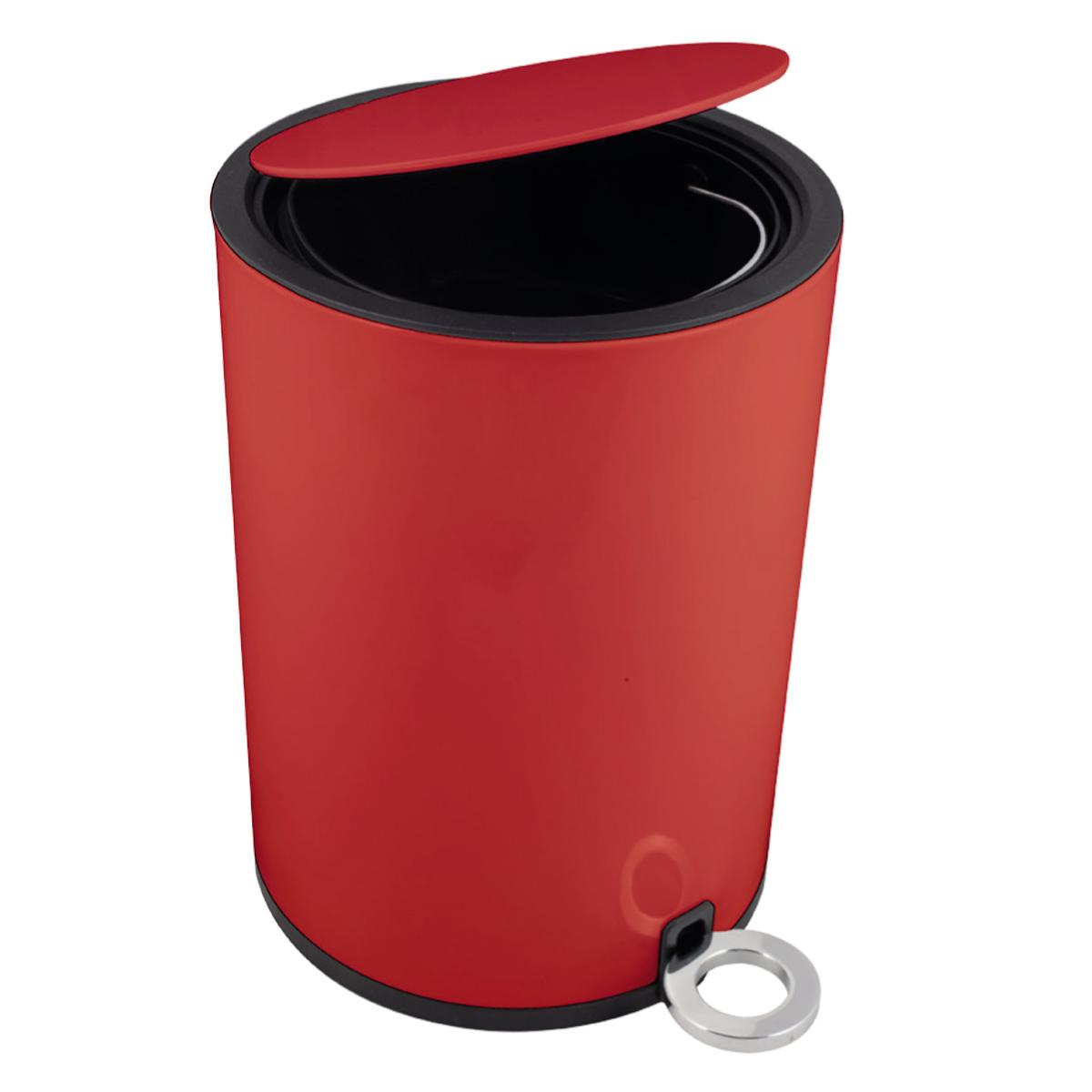 Kúpeľňový kôš Duspy Red