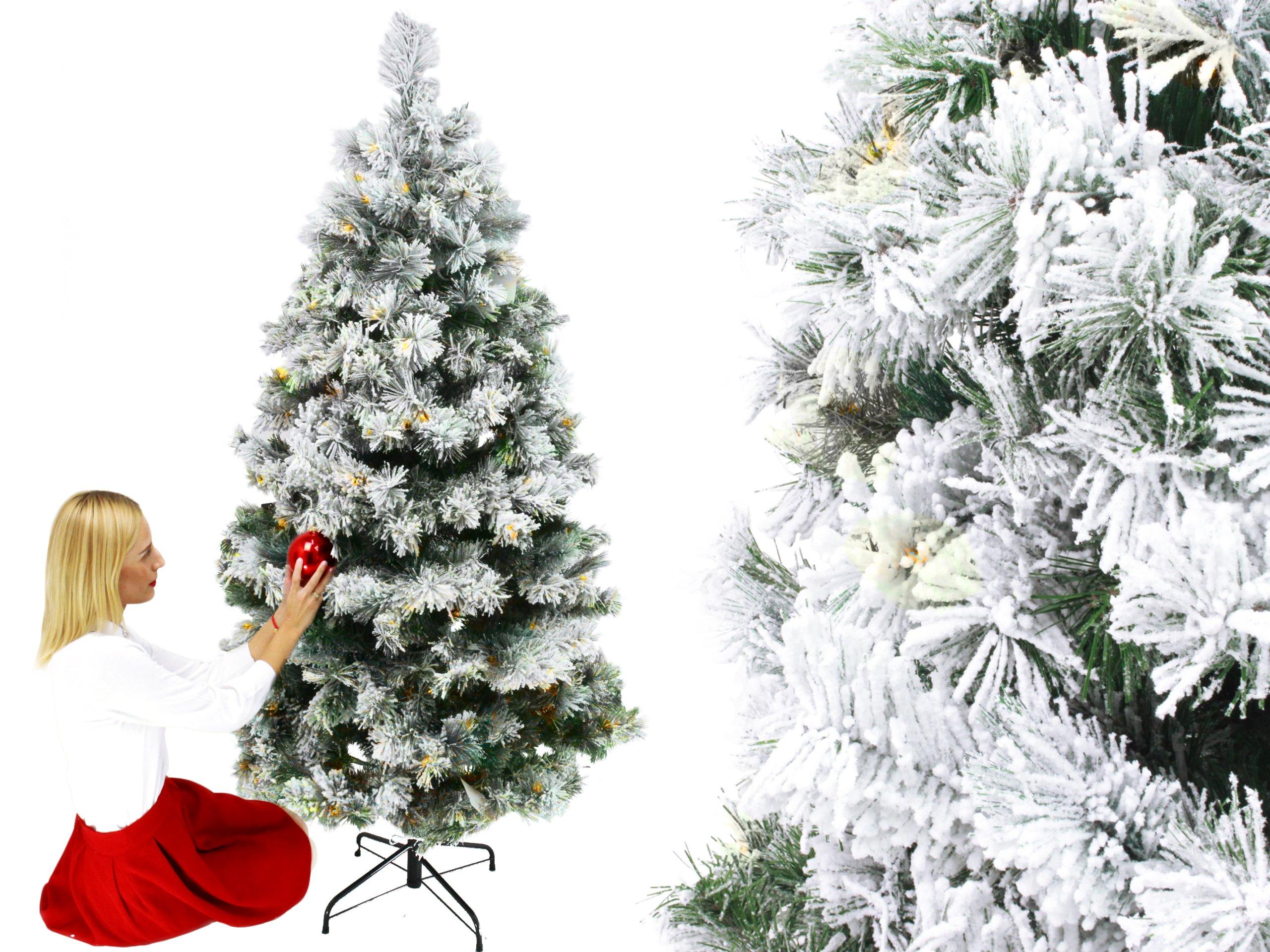 Vianočný strom Everlands Pine LED 300 biela PE 12 rokov GW