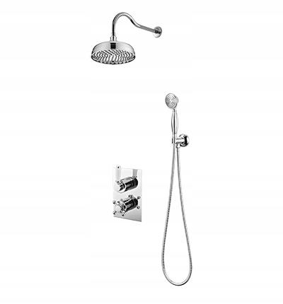 Chrómová omietková sprchová súprava OMNIRES RETRO RET01