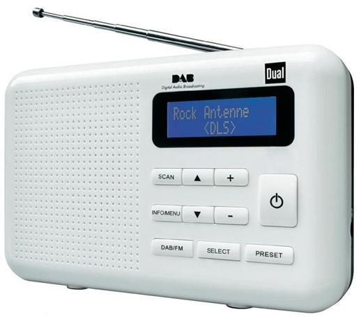 Digitálne rádio DAB / DAB + DUAL DAB 2 FM LCD DUAL
