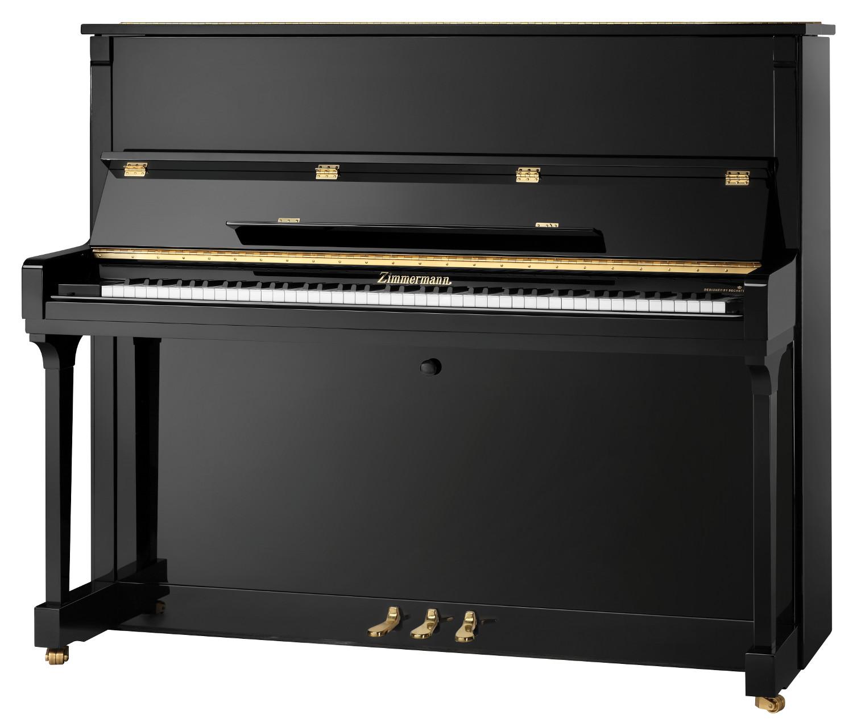 Zimmermann Z126 Piano - čierny lesk