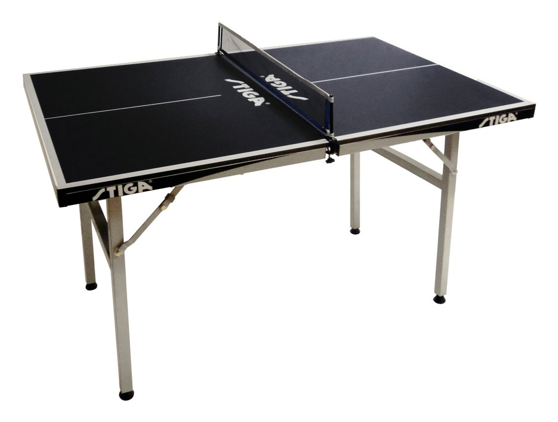 STIGA MINI BLACK стол для настольного тенниса с сеткой