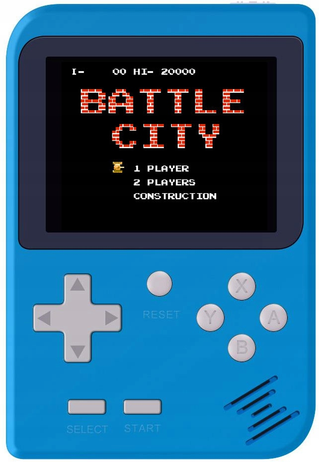 Item Portable console SCREEN 2.8 inch 168 BLUE games