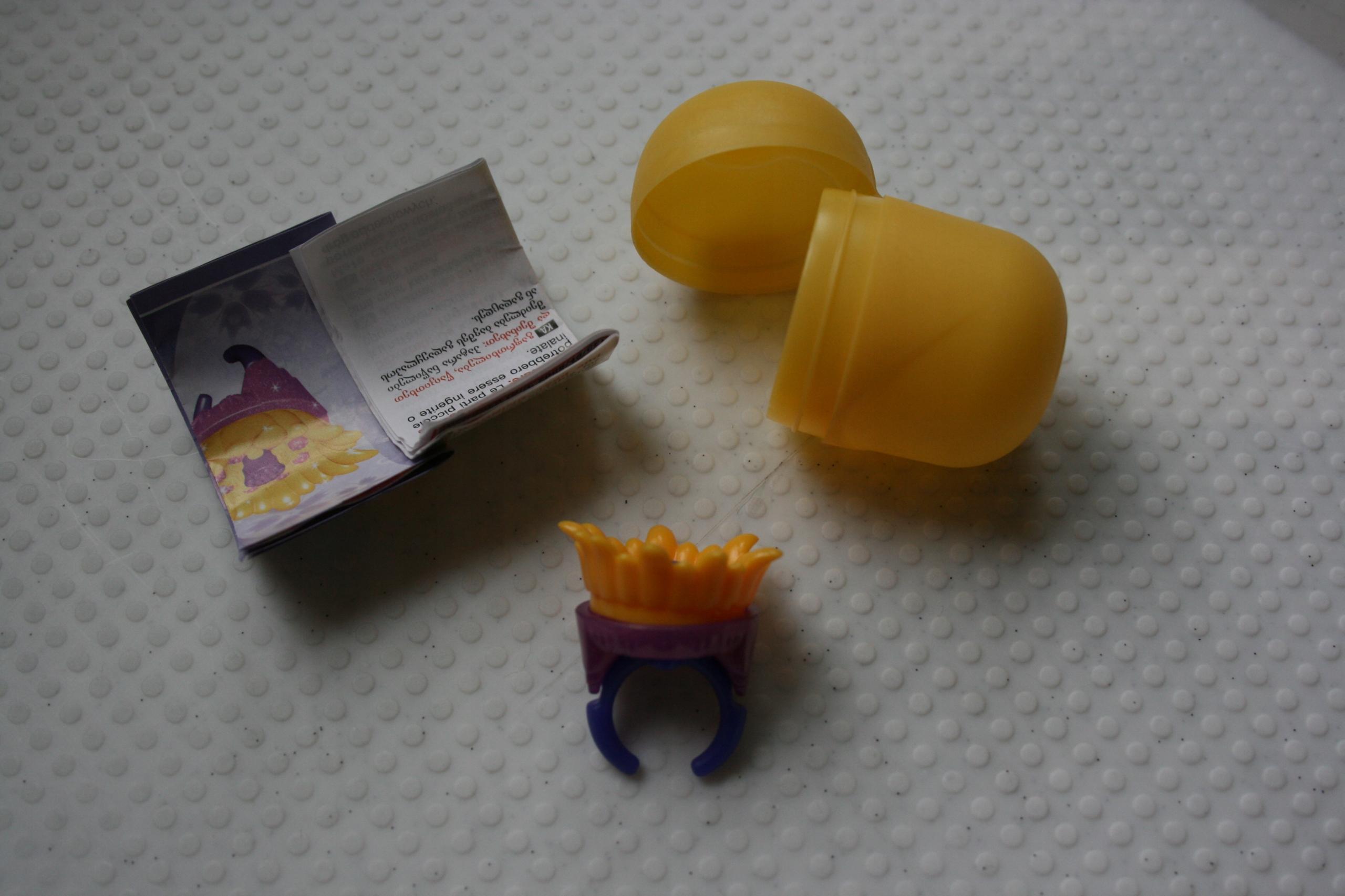 Zabawka z jajka niespodzianki