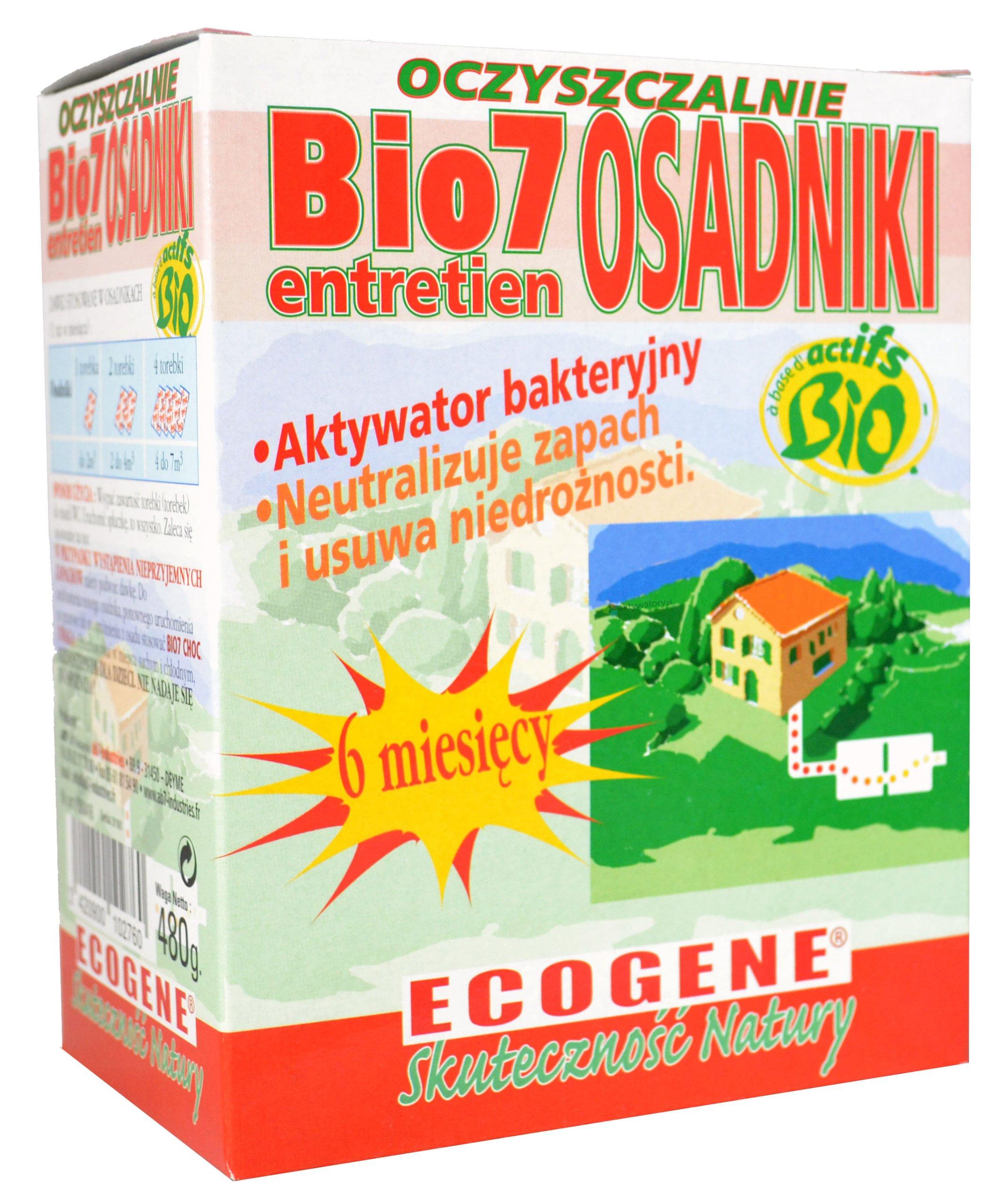 Bio 7 Entretien 480 Выгребных БАКТЕРИИ Bio7 Ecogene