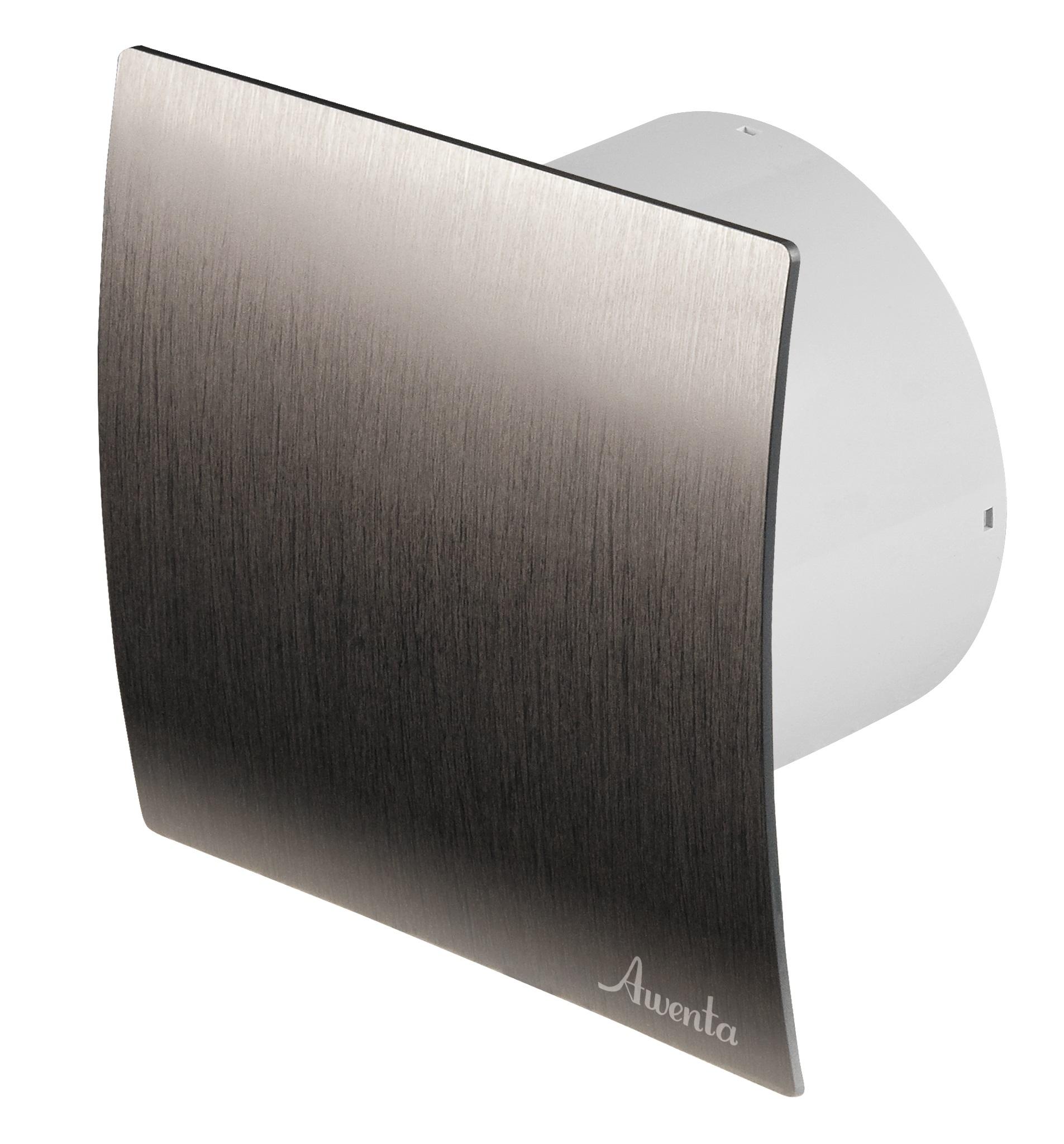 Awenta Kúpeľňa Ventilátor WES150 Strieborný štandard