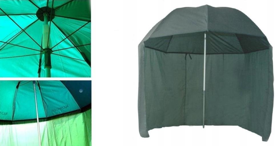 Umbrella Stan Lux Konger pogumovaný s 2,5M štítom