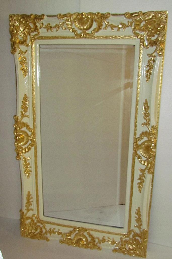 Item White gold MIRROR CRYSTAL beveled 153 x 91