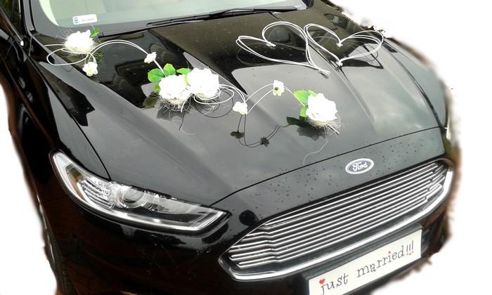 декорация автомобиля украшения на авто в свадьбы цветы