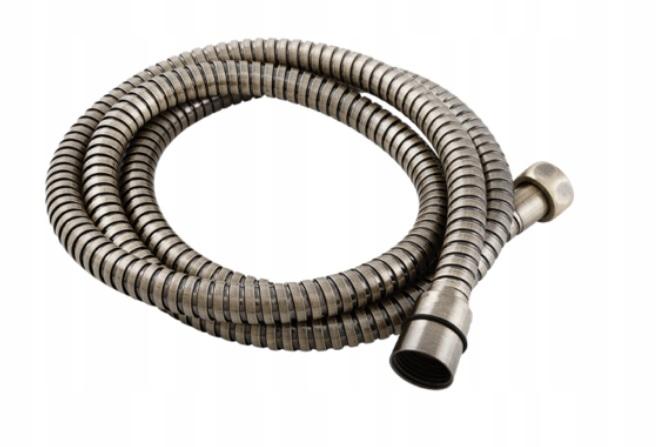 Starožitná retro mosadzná sprchová hadica 150 cm